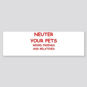 pets Sticker (Bumper)