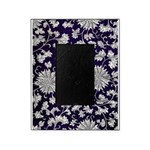Abstract Whimsical Flowers Picture Frame