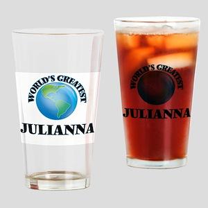 World's Greatest Julianna Drinking Glass