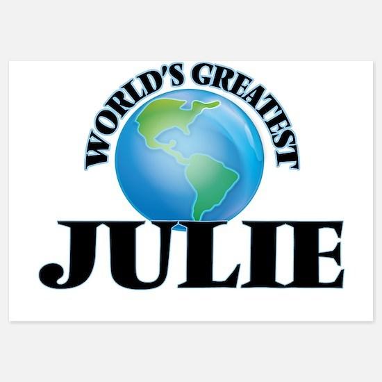 World's Greatest Julie Invitations