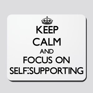 Keep Calm and focus on Self-Supporting Mousepad