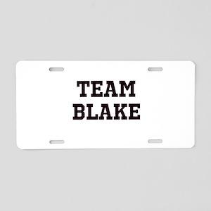 Team Name Aluminum License Plate