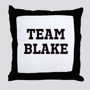 Team Name Throw Pillow