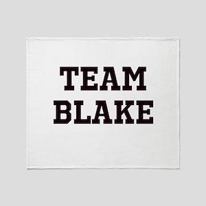 Team Name Throw Blanket