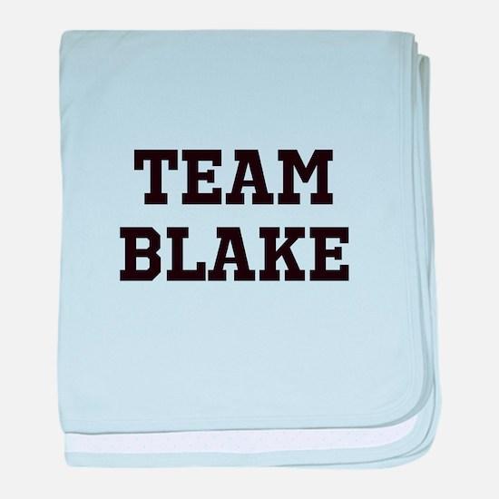 Team Name baby blanket