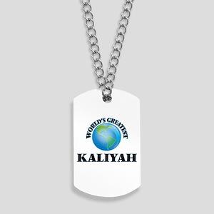 World's Greatest Kaliyah Dog Tags