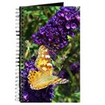 Peacock Butterfly on Purple sq Journal