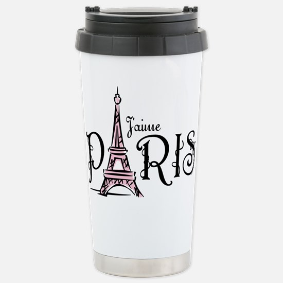 J'aime Paris Stainless Steel Travel Mug