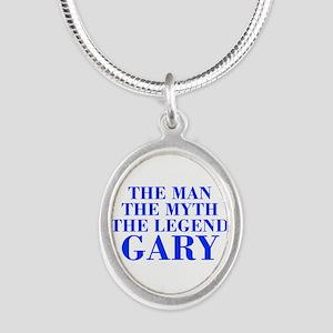 The Man Myth Legend GARY-bod blue Necklaces