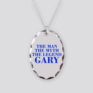 The Man Myth Legend GARY-bod blue Necklace