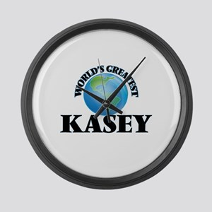 World's Greatest Kasey Large Wall Clock
