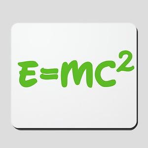 E=MC squared 3 Mousepad
