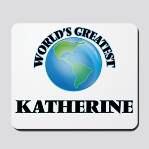 World's Greatest Katherine Mousepad
