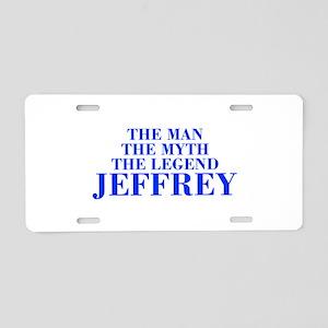 The Man Myth Legend JEFFREY-bod blue Aluminum Lice