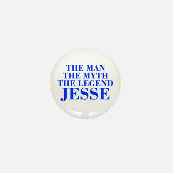 The Man Myth Legend JESSE-bod blue Mini Button