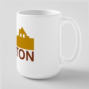 Appleton Wisconsin skyline Large Mug