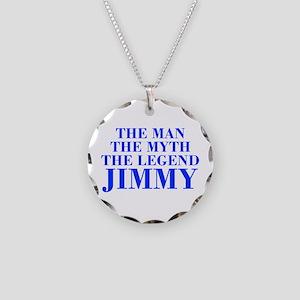The Man Myth Legend JIMMY-bod blue Necklace