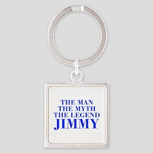 The Man Myth Legend JIMMY-bod blue Keychains