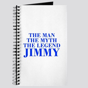 The Man Myth Legend JIMMY-bod blue Journal