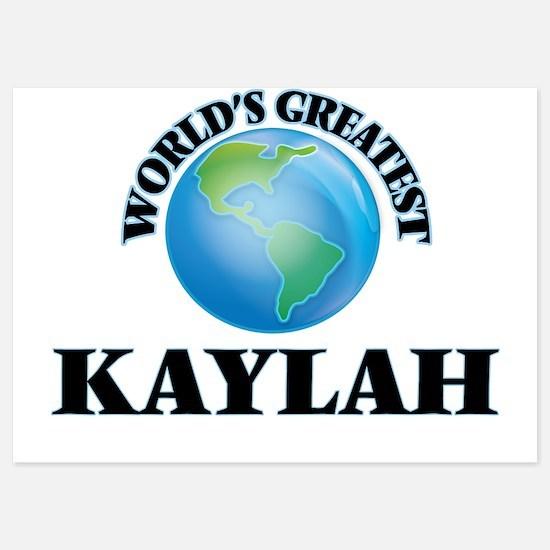 World's Greatest Kaylah Invitations