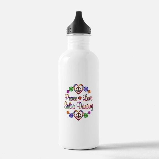 Peace Love Salsa Water Bottle