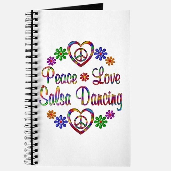 Peace Love Salsa Journal