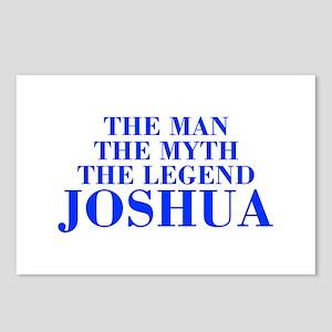 The Man Myth Legend JOSHUA-bod blue Postcards (Pac