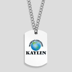 World's Greatest Kaylen Dog Tags