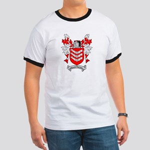 ARMSTRONG 2 Coat of Arms Ringer T