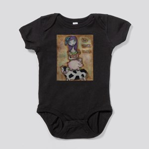 Be Their Voice Baby Bodysuit