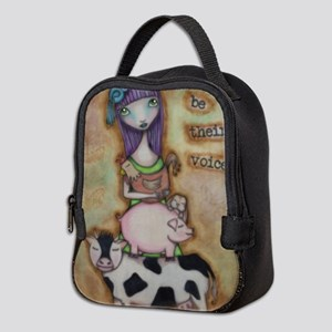 Be Their Voice Neoprene Lunch Bag
