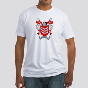 ARMSTRONG 2 Coat of Arms Fitted T-Shirt