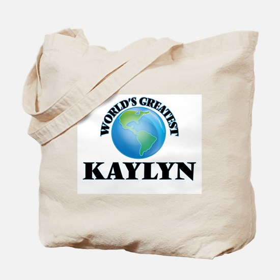 World's Greatest Kaylyn Tote Bag