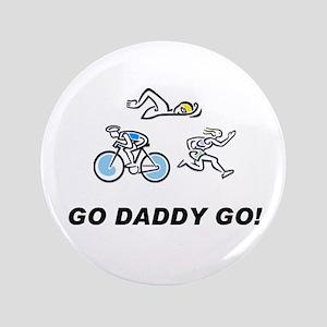 "Go Daddy Go! 3.5"" Button"