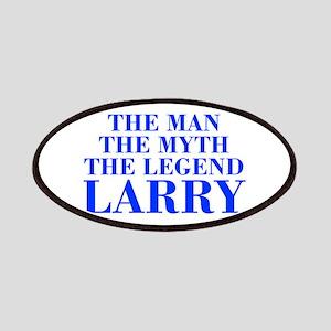The Man Myth Legend LARRY-bod blue Patches