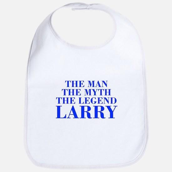 The Man Myth Legend LARRY-bod blue Bib