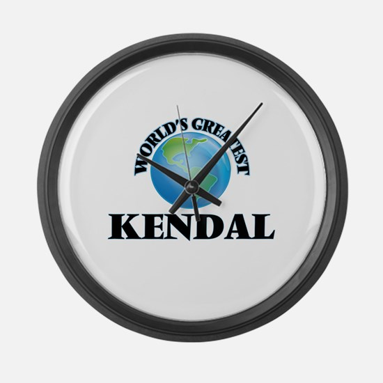 World's Greatest Kendal Large Wall Clock