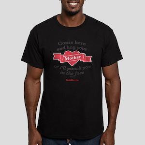 Hug Your Mother Men's Fitted T-Shirt (dark)