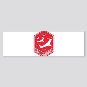 snow_bird_aerobatic Bumper Sticker
