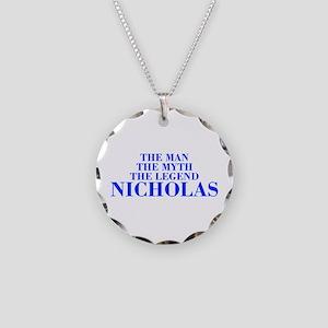 The Man Myth Legend NICHOLAS-bod blue Necklace
