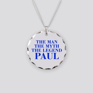 The Man Myth Legend PAUL-bod blue Necklace