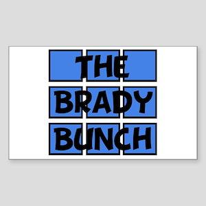 Brady Bunch Sticker (Rectangle)