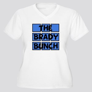 Brady Bunch Women's Plus Size V-Neck T-Shirt