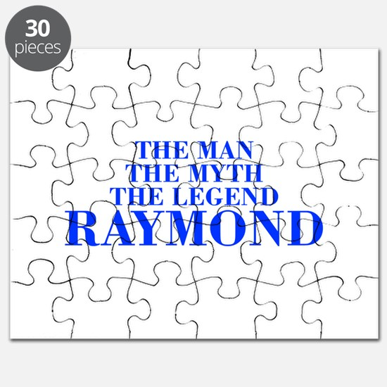 The Man Myth Legend RAYMOND-bod blue Puzzle