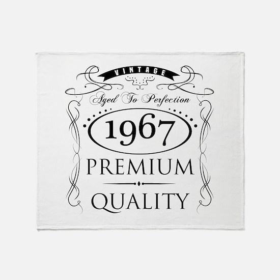 1967 Premium Quality Throw Blanket