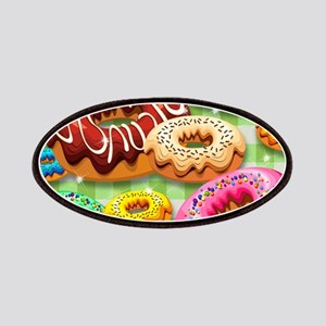 Donuts Party Time Patches