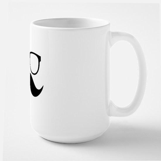 Mr. Stache Large Mug