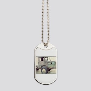 Vintage Truck Dog Tags