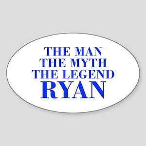 The Man Myth Legend RYAN-bod blue Sticker