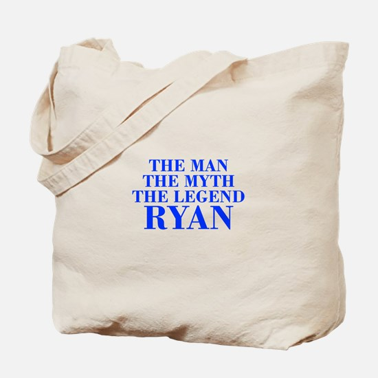 The Man Myth Legend RYAN-bod blue Tote Bag